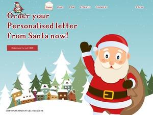 Santa Letters website