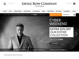 Savile Row Company Ltd website