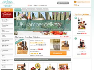 Serenata Hampers website