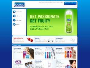 Durex website