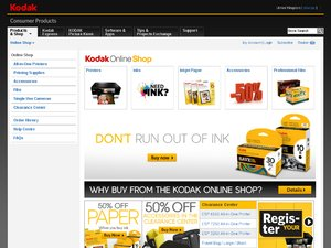 Kodak Shop website