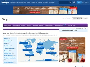 Lonely Planet Publications website
