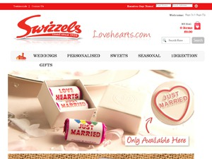 Love Hearts website