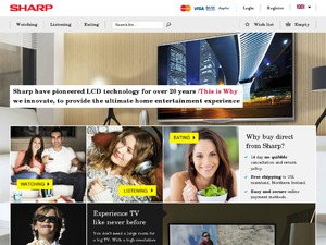 Sharp website