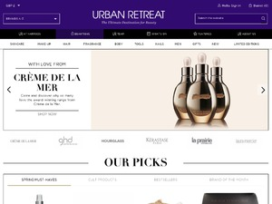 Urban Retreat website