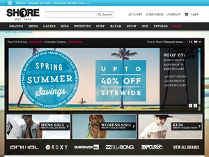 Shore website