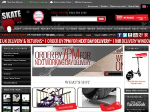 Skatehut website