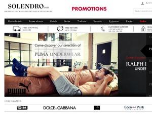 Solendro UK website