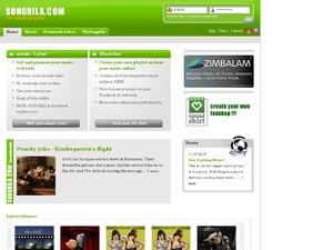 Songrila website