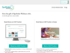 Spa Finder website