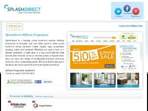 Splash Direct website