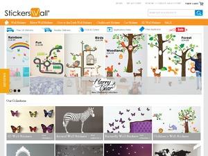 Stickers Wall website