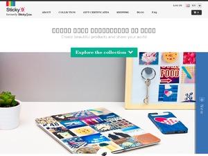 Sticky9 UK website