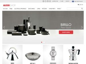 Alessi website