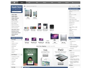 Apple Store website