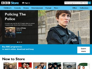 BBC Shop website