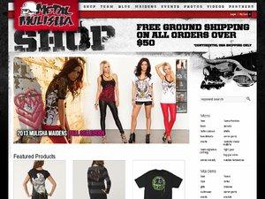 MetalMulisha website
