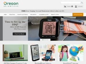 Oregon Scientific website