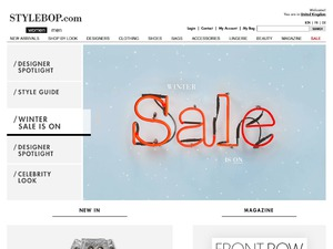 STYLEBOP website