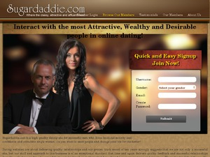 Sugardaddie.com website