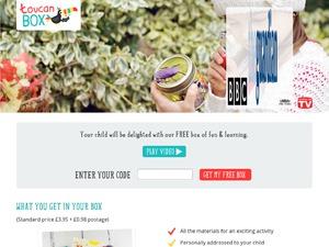 Toucan Box website