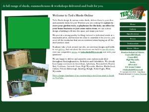 Teds Shed website