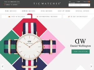 TIC Watches website