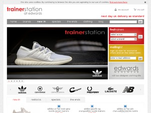 Trainer Station website