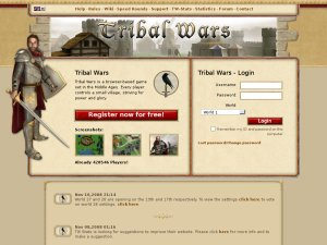 Tribalwars.net (InnoGames EN) website