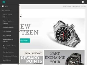 TW Steel Watches website
