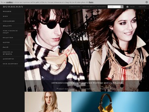 Burberry website