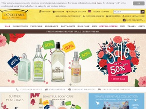L'Occitane website