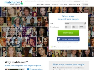 Match.com website