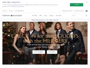 Tommy Hilfiger website