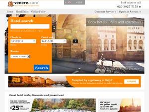 Venere website