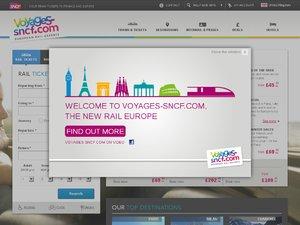 Voyages-sncf website