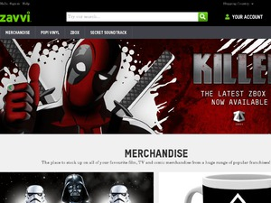 Zavvi US & CA website