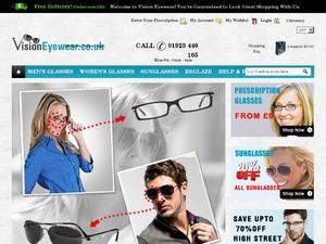 Vision Eyewear website