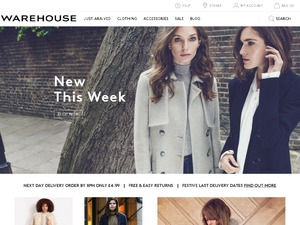 Warehouse website