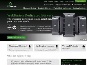 WebFusion website