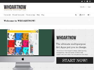 WHoArtNow website