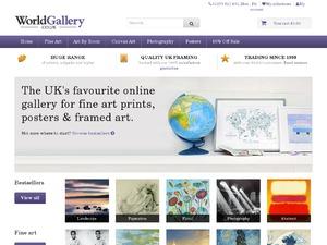 WorldGallery.co.uk website