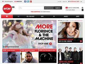 WOW HD website