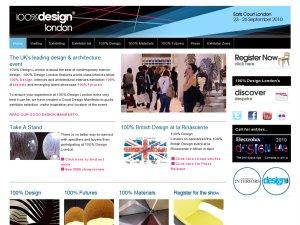 100percentdesign website