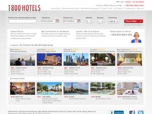 1800hotels website