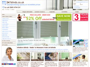 247Blinds website
