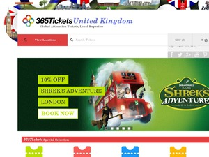 365Tickets website