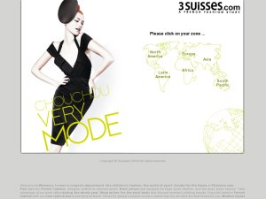 3 Suisses website
