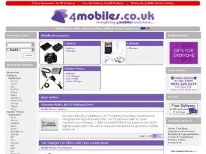 4Mobiles website