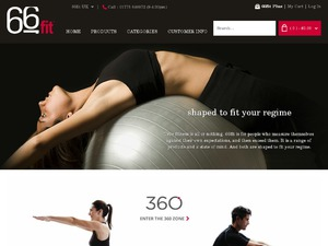 66fit (Physio Supplies Ltd) website